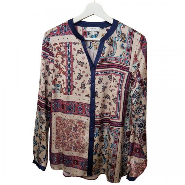 Tinta Style Ada Shirt Prune