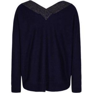 Pieszak Victoria Batwing Knit in Blue