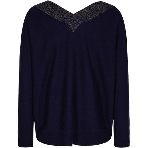 Pieszak Victoria Batwing Knit in Blue