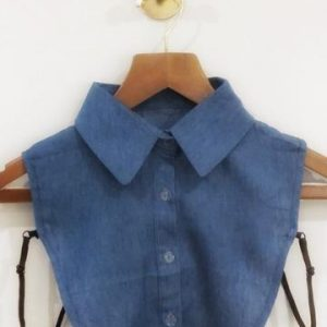 Buttons and Dote Wendy Plain Bib Collar