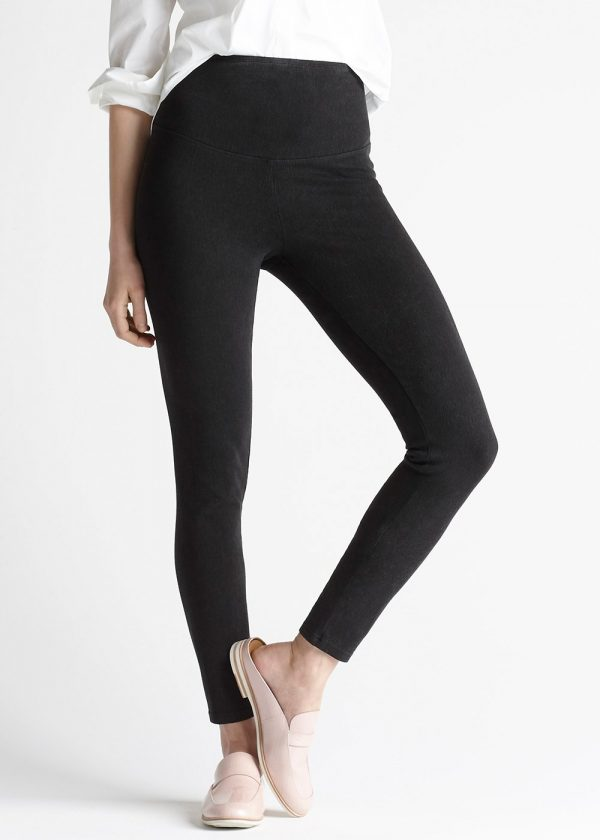 Yummie Denim Shaping Legging in Black
