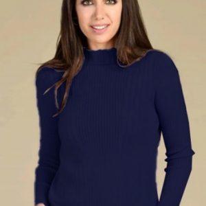 Bariloche Cofio Navy Blue Knit