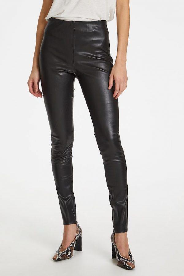 Soaked in Luxury Kaylee PU Leggings
