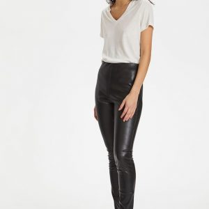 Soaked in Luxury Kaylee PU Leggings