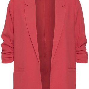 Soaked in Luxury Shirley Blazer in Cardinal