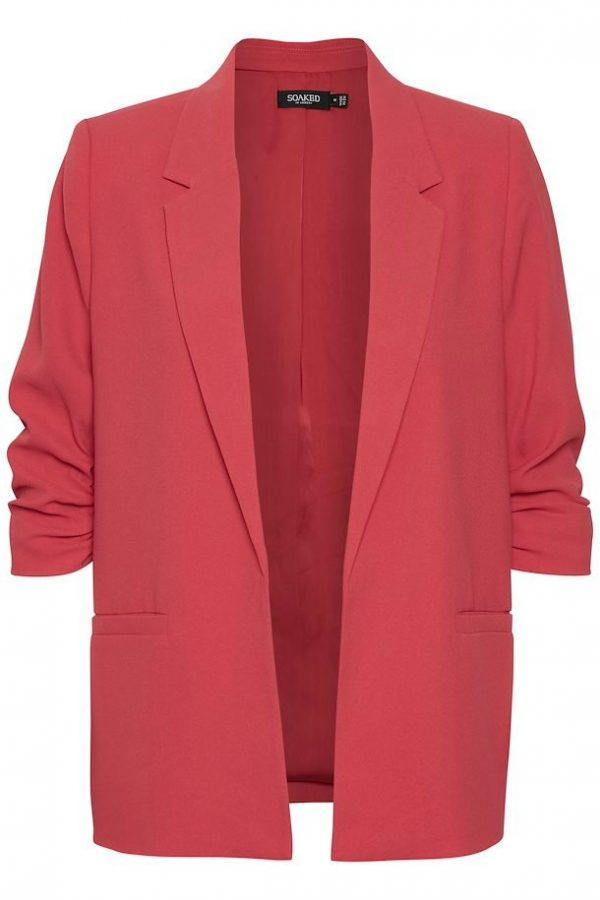 Soaked in Luxury Shirley Blazer in Cardinal
