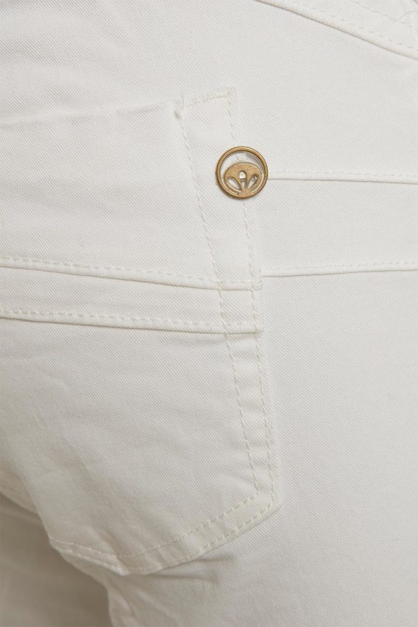 Cream Milus 3/4 jeans shape fit