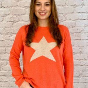 luella Classic Star Orange/cream