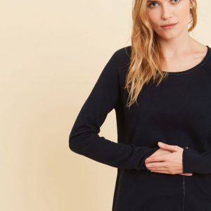 Sud Express Navy Mace Sweater