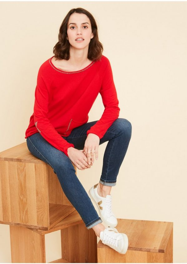 Sud Express Red Mace Sweater