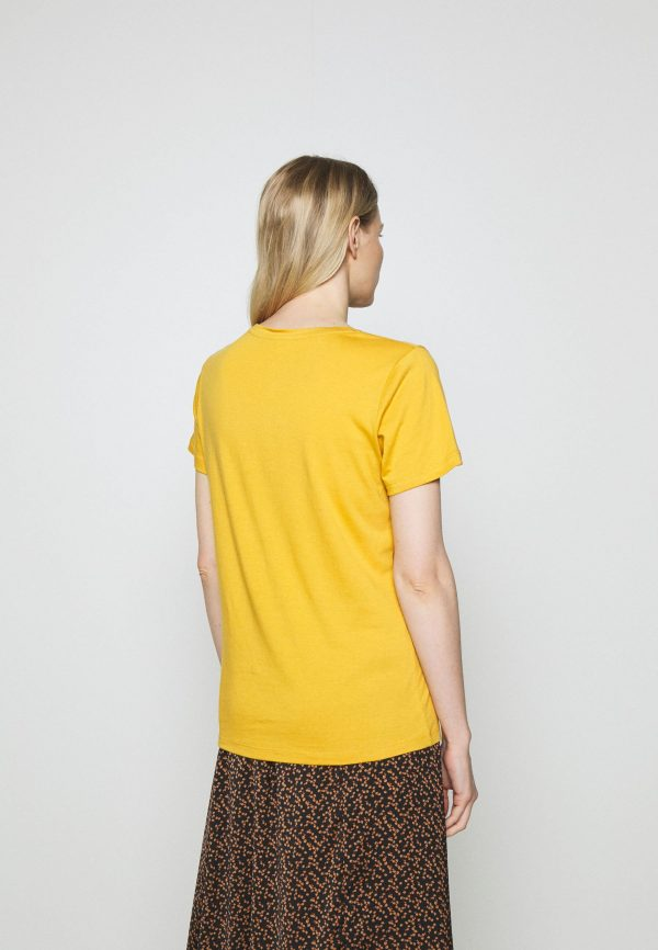 Cream Naia O-Neck T-Shirt Yellow
