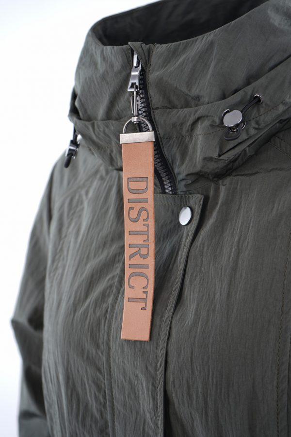 District Triple Steel Green Jacket