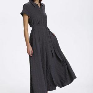 Soaked In Luxury Arjana Maxi Dress India Ink