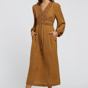Louche Jordi Dandelion Midi Dress