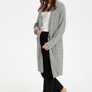 Soaked in Luxury Amaya Grey Cardigan
