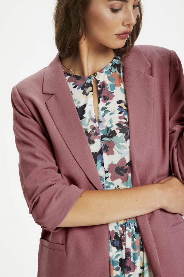 Soaked in Luxury Shirley Blazer in Mesa Rose