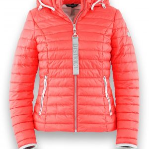 District Montego Jacket in Coral