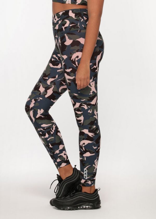 Lorna Jane Off Duty Camo Full Length Leggings