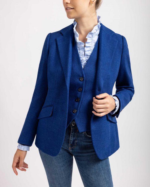 Bariloche Balbona Blue Wool Blazer
