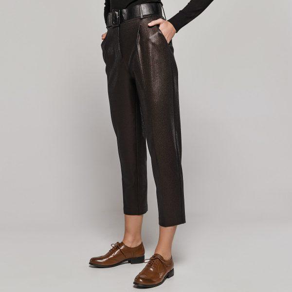Access Fashion Bronze Shine Pants