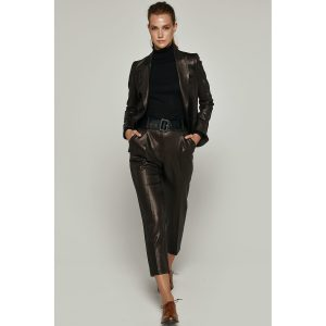 Access Fashion Bronze Shine Pants