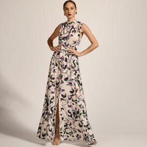 Access Fashion Printed Shirt Dress Lila