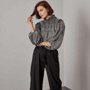 Access Fashion Dot Print Blouse