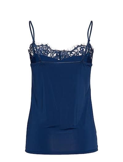 Soaked in Luxury Clara Singlet Twilight Blue