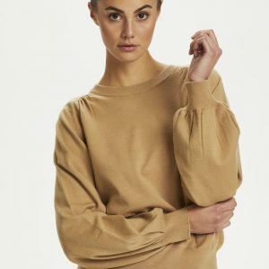 Soaked in Luxury Raquel Jumper in Tannin