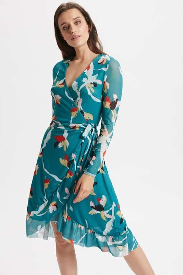 Soaked In Luxury Nadine dress LS