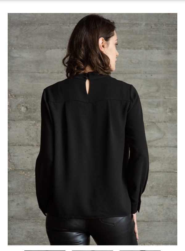 The Shirt Company Belmont Black Blouse