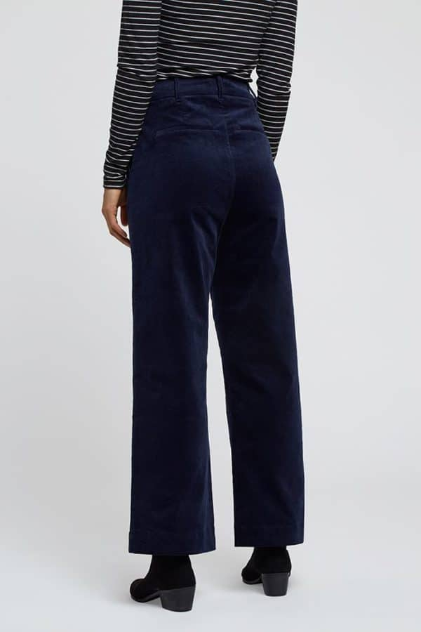 Louche Tim Babycord Wide Leg Trousers