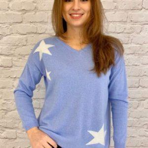 Luella Tippi Three Star Pale Blue\Cream