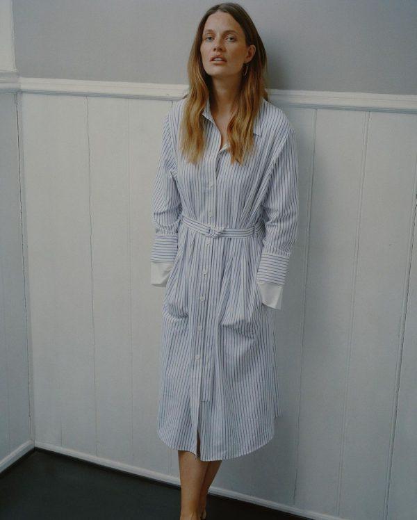 Pieszak Madeline Maxi Shirt Dress
