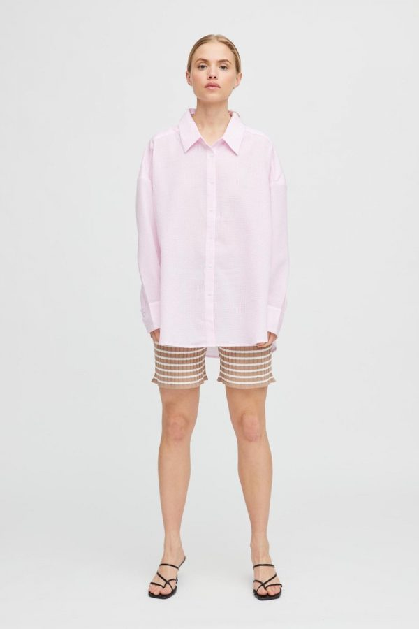 A-View Sonja Shirt in Pink/White
