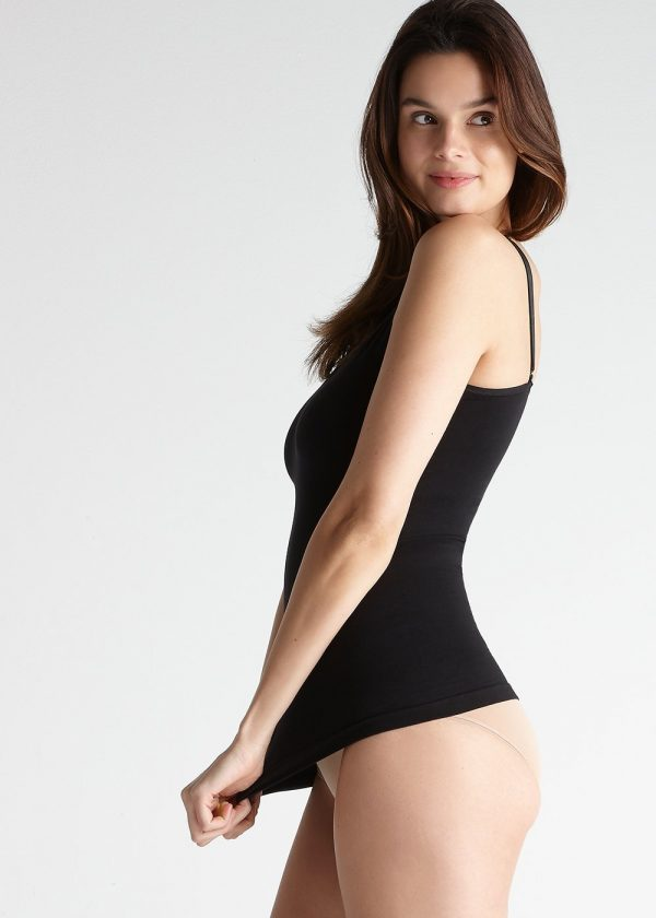 Yummie Seamless Convertible Shaping Cami in Black